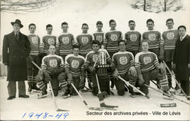 Champion de la Ligue intercollégial de hockey 1948 - 1949
