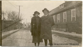 Alphonse Turgeon et Brunia Beaumont
